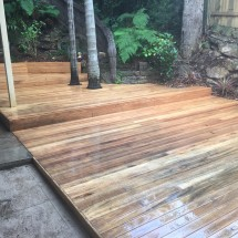 Blackbutt Timber Deck