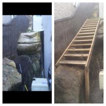 Tricky Timber Stairs
