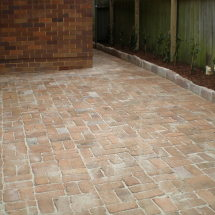 Old School Brick Paving