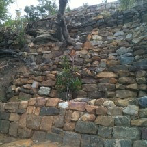 Dry Stack Retaining Walls