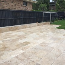 Classic Travatine  Paving